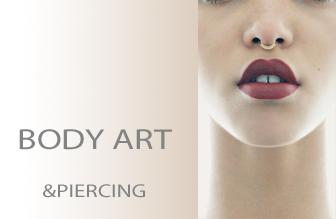body arte piercing
